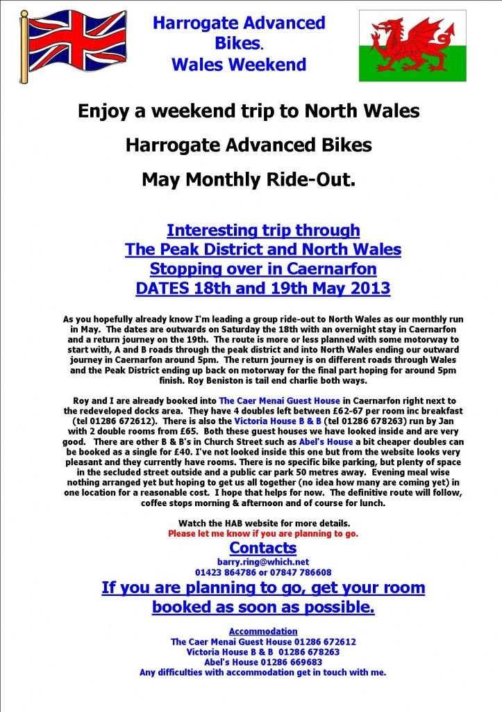 WALES MAY 2013 HAB WEEKEND TRIP2