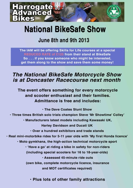 HAB National BikeSafe 2013