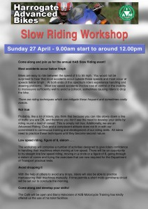 20140417 Slow Riding event