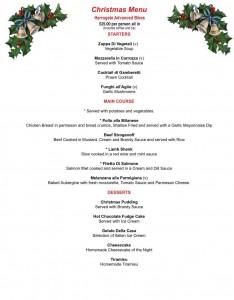 luigi's christmas menu